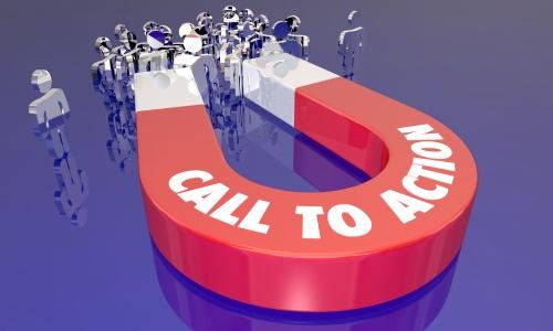 Aumentare il tasso di conversione utilizzando le call to action
