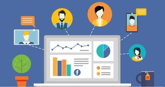 business facebook manager per social media marketing
