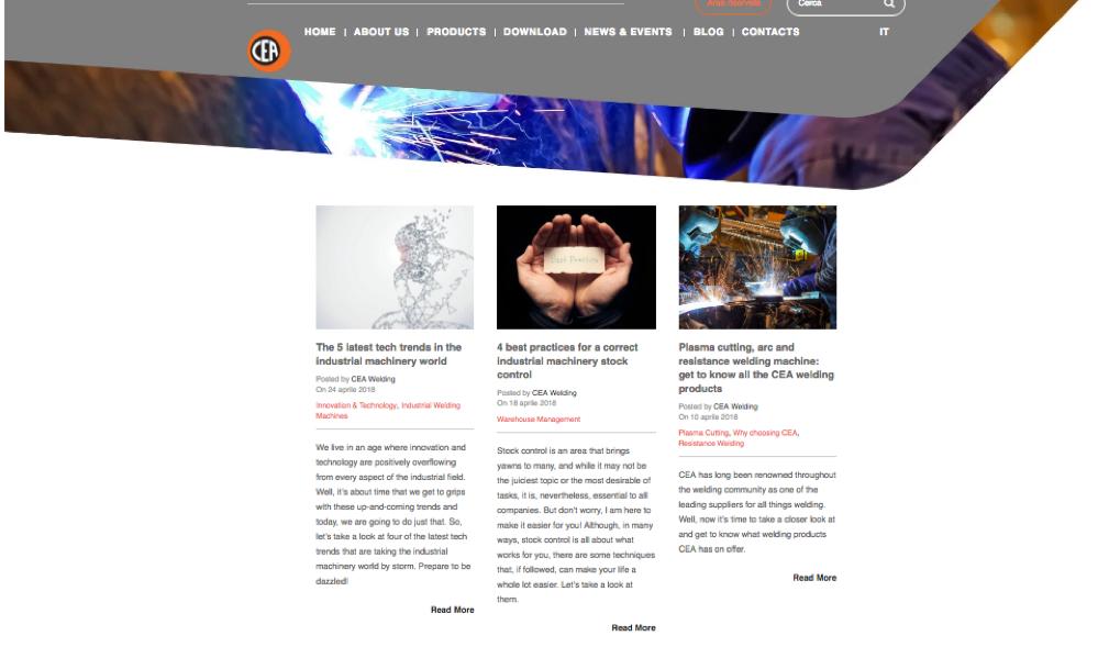 creazione sito internet di Inbound marketing