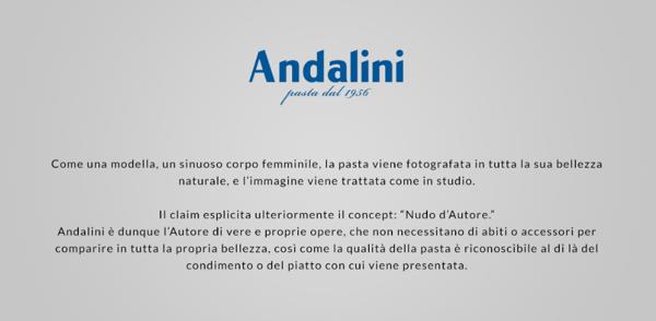Campagne pubblicitarie di successo - Inside per Andalini