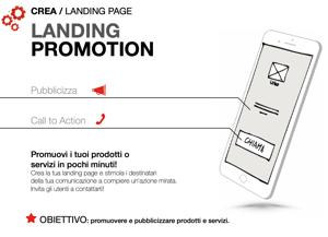 Fare Mobile marketing attraverso la landing promotion