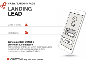 Fare Mobile marketing attraverso la landing lead