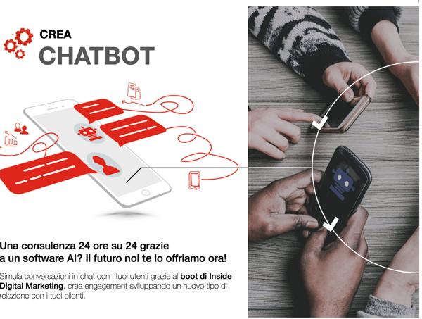 Soluzioni di mobile marketing :  Chatbot e social