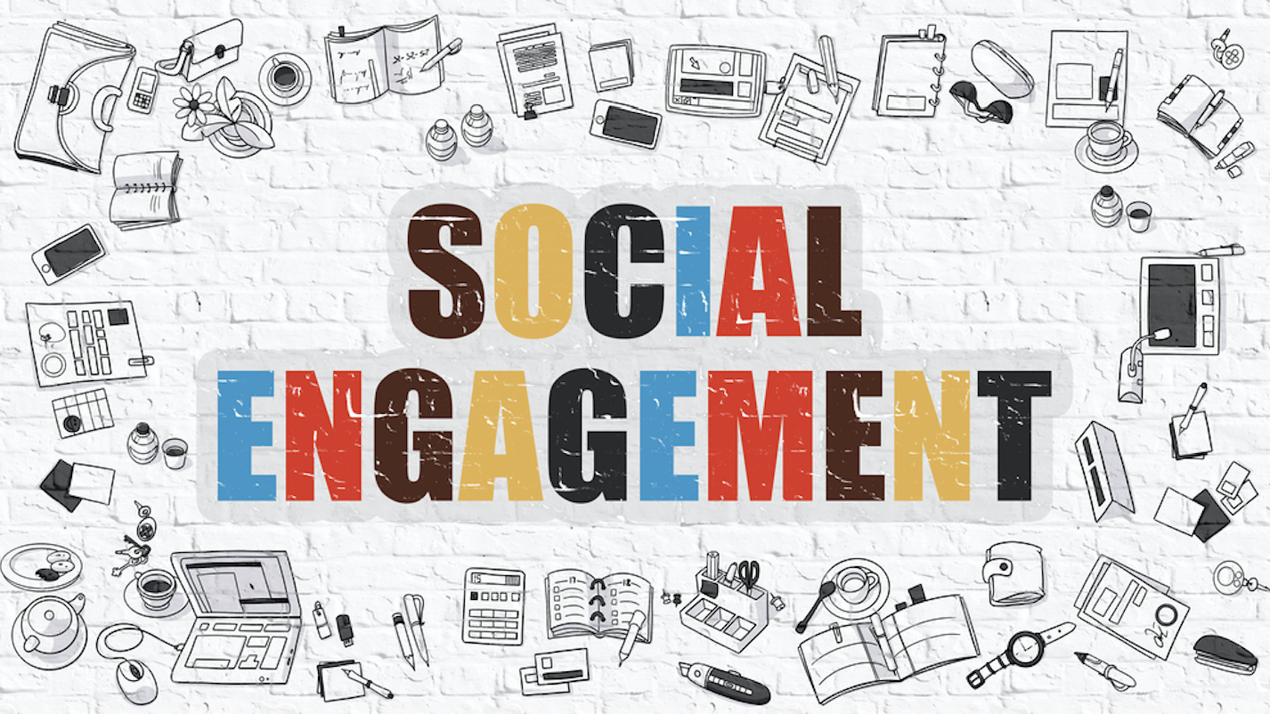 social engagement e social media metrics