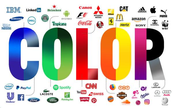 logo aziendale efficace : la psicologia dei colori