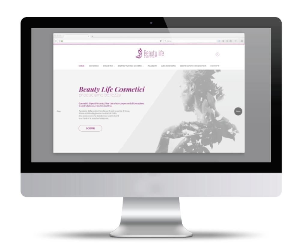 visual identity attraverso il sito internet