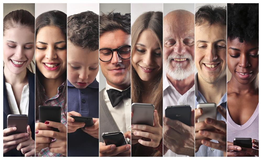 target del marketing digitale attraverso il mobile e lo smartphone